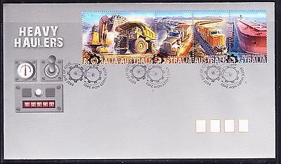 2008 Heavy Haulers Sheet First Day Cover FDC