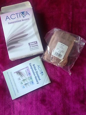 activa compression hosiery X 4 Prs New