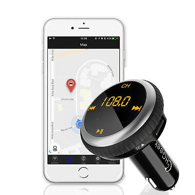 Bluetooth KFZ FM Transmitter Smart Auto Lokalisierer Wireless AutoMp3 Player USB