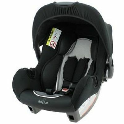 New Babystart Beone Infant Carrier Car Seat Birth + Group 0+ Graphite FF