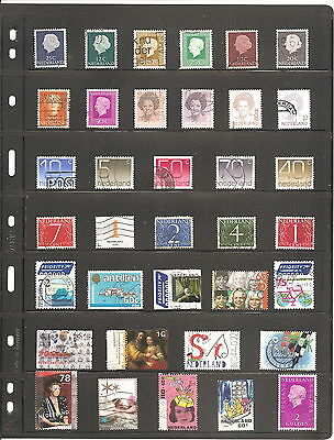 Sheet Of 36  Netherlands   Used   Stamps