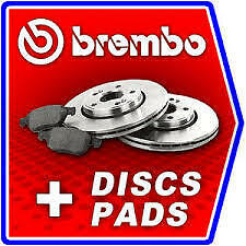 Ford Fiesta Mk6 Genuine Brembo Front Brake Discs And Pads Kit 2008->