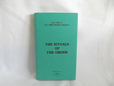 2004 Order Of The Allied Masonic Degrees Rituals Book  (78)
