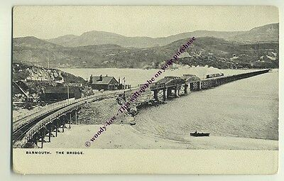 tp1006 - Barmouth Bridge , Merionethshire , Wales - postcard