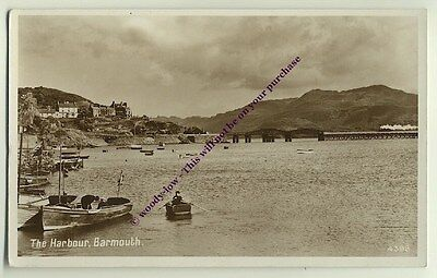 tp1014 - The Harbour , Barmouth , Merionethshire , Wales - postcard