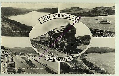 tp1011 - Barmouth Multiview , Merionethshire , Wales - postcard
