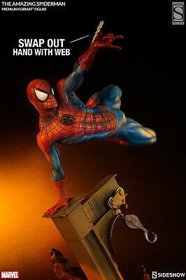 SPIDER-MAN The Amazing Spiderman EXCLUSIVE Premium Format Statue - Sideshow