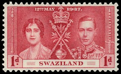 SWAZILAND 24 (SG25) - King George VI Coronation (pa34321)
