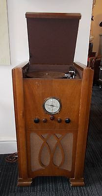 RARE VINTAGE 1930's FERGUSON RADIOGRAM - MODEL No 365  FULLY WORKING & SERVICED