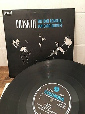 *Rare* The Don Rendell/ Ian Carr Quintet phase III Original UK Columbia SCX 6214