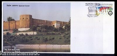 Bahu Fort, Architectural Monument, India, Special Cover  - A4