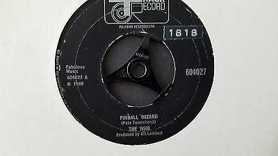 """The Who - Pinball Wizard / Dogs Part Two - 7"""" Vinyl 45 - 604027"""