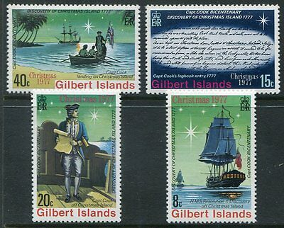 GILBERT ISLANDS  360 - 363  Beautiful Mint Never Hinged Set  UPTOWN 26840