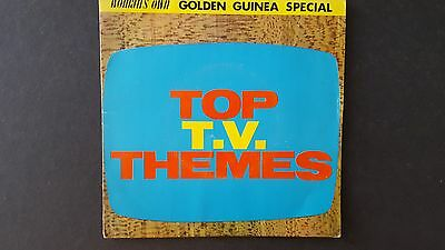 """Golden Guinea TOP TV THEMES of the 1960's 7"""" Vinyl EP"""