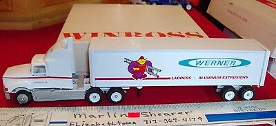 Werner Ladders Greenville Pa. Tractor Trailer Winross Truck