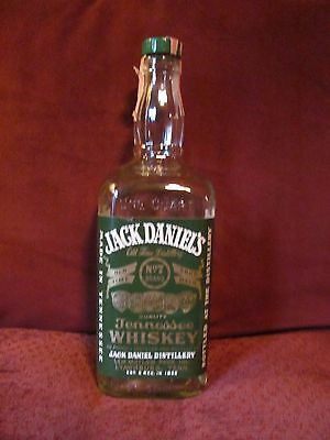 JACK DANIELS 1977 GREEN LABEL One Quart 86 PROOF Bottle Rare