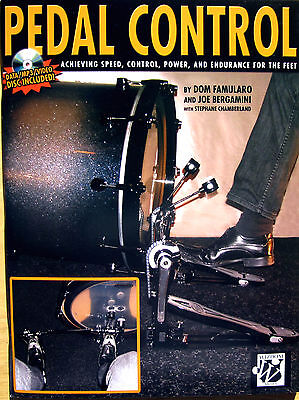DRUM PEDAL CONTROL Achieving Speed,Control,Power,Endurance,For The Feet Book MP3