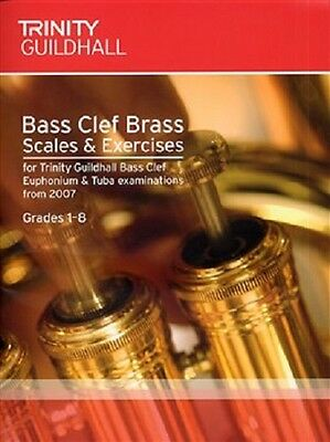 Trinity Guildhall Bass Clef Brass Scales & Exercises: Grades 1-8