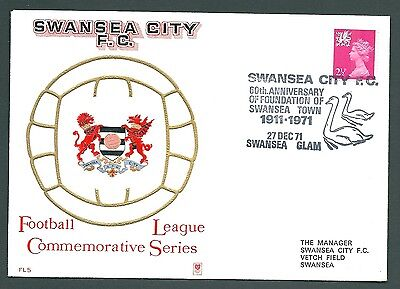 1971 Football cover - SWANSEA CITY