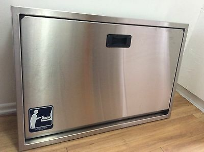 BROCAR Full Stainless Steel Horizontal Baby Changing Station - Great Condition!