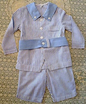 Vintage KAYNEE Boys 2 Piece NAUTICAL OUTFIT