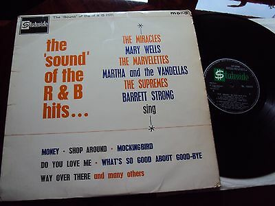 The Sound of R&B hits... (Motown)-Supremes, Miracles, etc -Stateside Label - VG