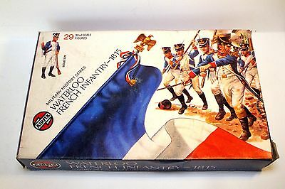Vintage Airfix Plastic Figures 1/32 - Waterloo French Infantry