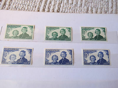 New Zealand Health Stamp Collection 32 Stamps (Mnh)