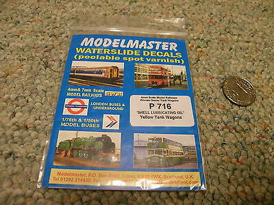 Modelmaster decals OO #4707 Large initials NE for LNER wagons     L102
