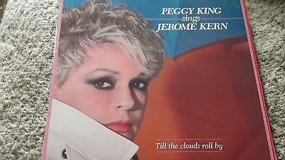 PEGGY KING sings Jerome Kern Till the clouds roll by Vinyl LP ST-246 29/25