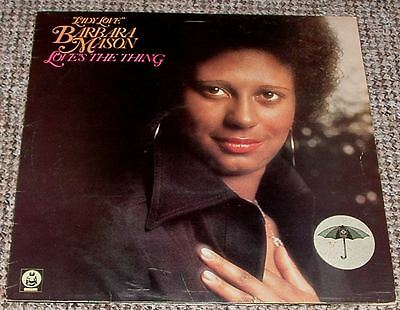 """ Lady Love "" Barbara Mason Loves The Thing 12"" Lp Uk Buddah Original 1975"
