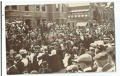 Warks Coventry Lady Godiva Procession Real Photo Vintage Postcard 23.5.2