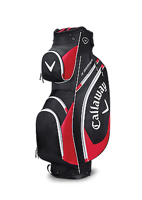 Brand New 2017 Callaway Golf X Series Cart / Trolley 14 Way Bag Black/Red/White