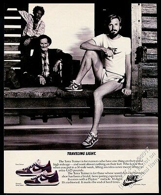 1983 Nike Terra Trainer shoes photo vintage print ad