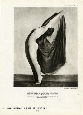 ART NUDE by Nickolas Muray Photo Page 1921 Dancer Desha