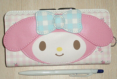 My Melody Kiss-clasp Clutch Wallet Purse  long  #506
