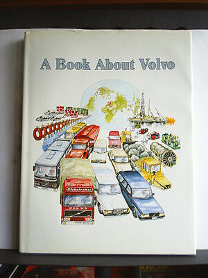 A BOOK ABOUT VOLVO - RICHARD PLATE Hardback 1986 1st