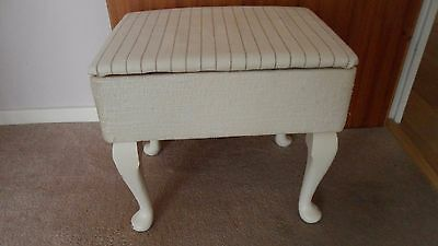 Vintage Sewing Box Stool can be up-cycled
