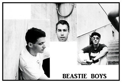 Beastie Boys Poster, Mike D, MCA, Ad-Rock