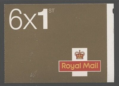 Great Britain 2002 £1.62 Questa booklet SG# MB3 NH