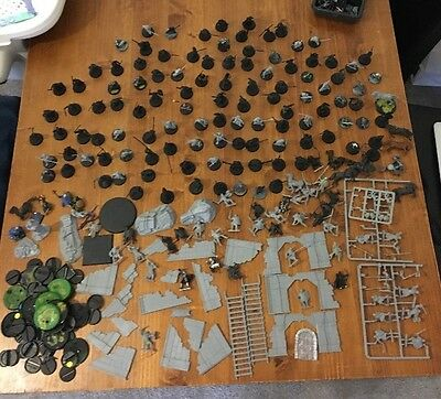 Warhammer Lord of the Rings Job Lot Figures Base War Horses Orcs Bundle