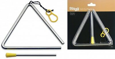 """Stagg 6"""" Triangle With Beater -TRI-6"""