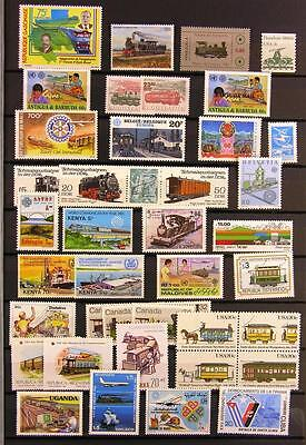 (940653) Train, Small lot, Railway, Miscellaneous, World