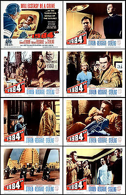 GEORGE ORWELL'S 1984 With EDMOND O'BRIEN Full Set Of 8 Indiv 8x10 LC Prints 1956