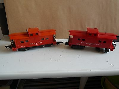 Vintage American Flyer  S Gauge Rail Cars - Reading & 24630