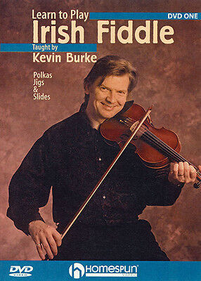 Learn to Play Irish Fiddle Lesson 1 Kevin Burke Violin Lessons Video DVD NEW