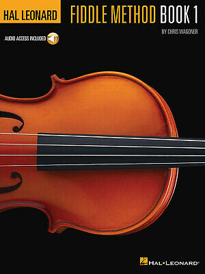 Hal Leonard Fiddle Method Play Bluegrass Country Violin Lesson Book Online Audio