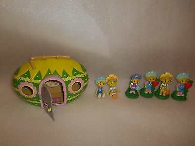 Fifi and the Flowertots Figures and Primrose Cottage