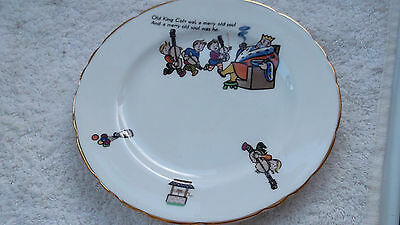 1930+ Delphine China Childs Plate    Old King Cole