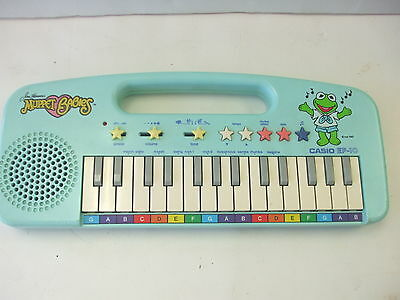 Vintage Casio EP-10 Jim Henson's Muppet Babies Musical Keyboard Tested & Working